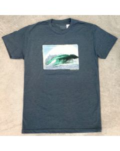 Left at Mavericks Men's Short Sleeve Tee