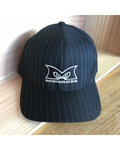 Mavericks Flex Fit Hat in Pinstripes