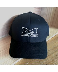 Mavericks Flex Fit Hat in Black