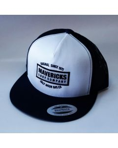 Mavericks Surf Company Trucker Hat Black