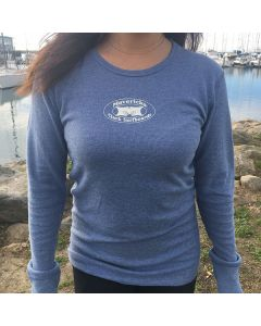 Mavericks Old School Thermal Tee for Women