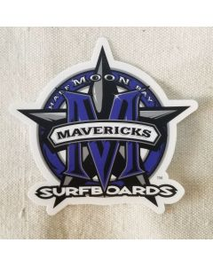 Mavericks Blue Star Sticker
