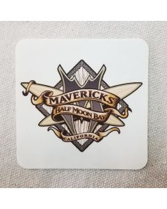 Mavericks Big Wave Guns Sticker