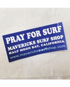 Sticker-Pray for Surf