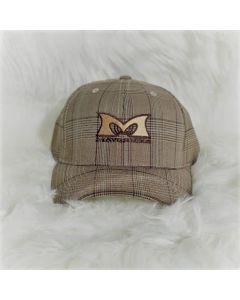 Mavericks Flex Fit Hat in Glencheck-Brown