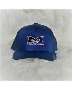 Mavericks Flex Fit Hat in Navy