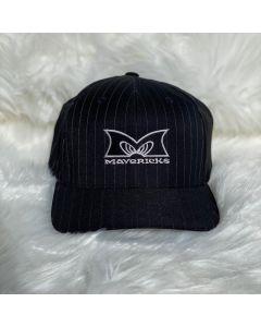 Mavericks Flex Fit Hat in Pinstripes