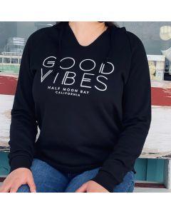 Women's GOOD VIBES Flowy Hoodie