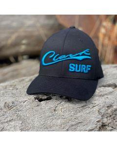 Teal Clark Surf Flex Fit Hat