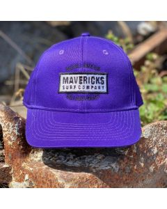 Youth Mavericks Surf Company Hat-Purple